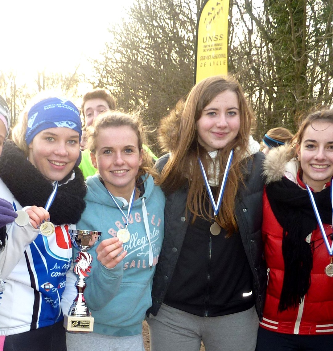 Cross Country : Jean Bart vice-championnes d'académie