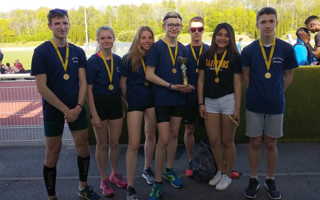 Athlétisme : Jean Bart champion d'académie !