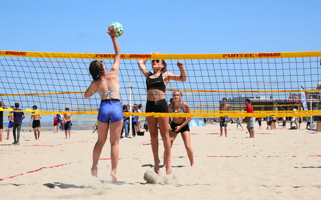 Palmarès et photos du tournoi de Beach-Volley 2018