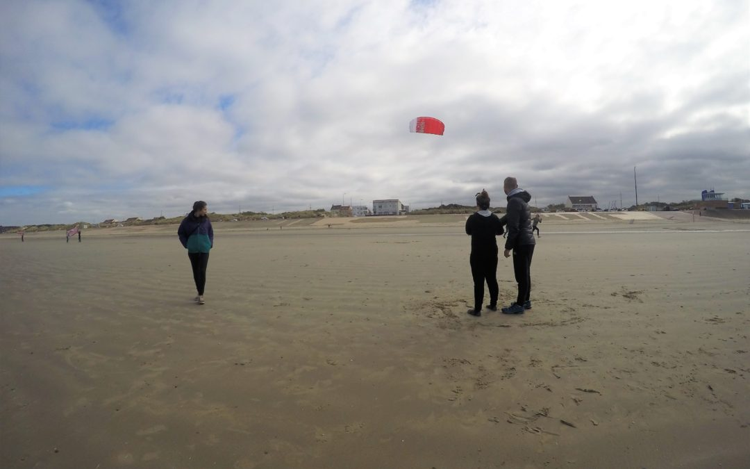 Sortie UNSS Kitesurf pour le collège Robespierre